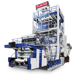 Five-layer Co-extrusion Blow Film Machine